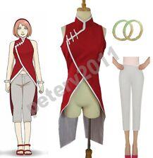 Boruto Naruto the Movie Haruno Sakura Cheongsam Cosplay Costume Custom-made