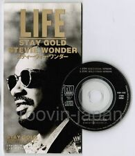 "STEVIE WONDER Stay Gold JAPAN 3"" CD SINGLE PODT-1028 Free S&H  Movie 'Outsider'"