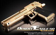 Academy #17223 DESERT EAGLE 50 - GOLD SPECIAL Airsoft Gun Hand Grips Pistol Toy