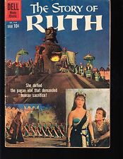 4-COLOR  STORY OF RUTH  #1144  DELL 1960 VG-  MOVIE/TV....PHOTO-c