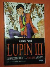 LUPIN III- EPISODI INEDITI  DELLA 1°SERIE-N°5-DI:MONKEY PUNCH-ESAURITO-ORION