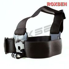 Adjustable Camera Elastic Head Belt Strap Headband Mount For Gopro Hero 2 3 3+ 4