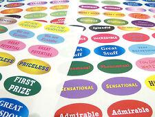96 Reward Stickers, Alternative Superlatives, Perfect for Encouraging Kids