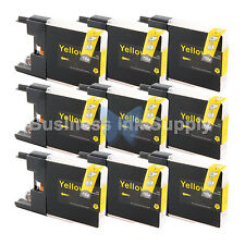 9 YELLOW LC71 LC75 Ink Cartridge for Brother MFC-J280W MFC-J425W MFC-J435W LC75Y