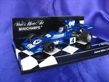TYRRELL FORD 007 DEPAILLER 1974 MINICHAMPS 400 740004 1:43 NEW MODEL CAR BLUE
