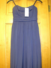 NEW BCBG GENERATION BLUE LONG STRAPLESS MAXI DRESS - SZ SMALL - MSRP $ 138.00