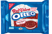 Nabisco OREO RED VELVET flavor creme Sandwich Cookies LIMITED EDITION