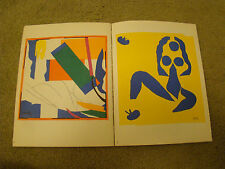THE LAST WORKS OF HENRI MATISSE, LARGE CUT GOUACHES BY MONROE WHEELER, 1961