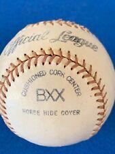 1960s  MACGREGOR BRUNSWICK OFFICIAL League BXX Baseball