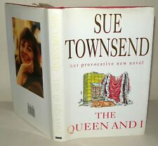 Sue Townsend - The Queen And I - HB/DJ - 1992 SIGNED BY AUTHOR