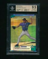 1999 Finest Refractors #185 Randy Johnson BGS 9.5