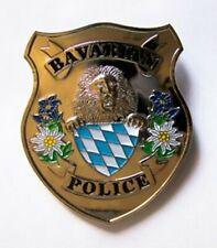 "Polizei Badge "" BAVARIA POLICE "" ~ PLUS 1 IPA Aufkleber"