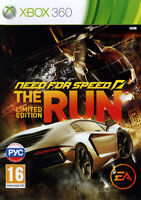 Xbox 360- Need for Speed -The Run(Limited Edition) Excellent- 1st Class Delivery