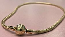 PANDORA | 14K GOLD ICONIC SIGNATURE CLASP NECKLACE *NEW* 550742-42 RETIRED RARE