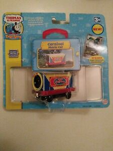 CARNIVAL MOVIE CAR Thomas the Tank Engine & Friends Take Along n play diecast