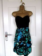 """FABULOUS STRAPLESS PARTY DRESS BY LIPSY UK-12 BUST 36"""" HIPS 40"""""""