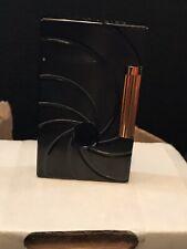 Briefcase Full of Bond James Bond, Replica St Dupont 007 Brush Black Lighter.