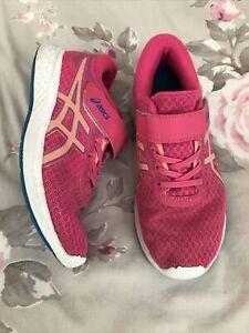 Asics Girls Running Trainers Size 1