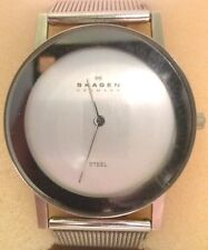 STAINLESS STEEL SKAGEN WATCH IN ORIGINAL BOX WITH LIMITED LIFETIME WARRANTY