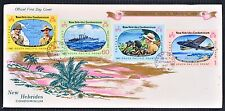 New Hebrides Condominium First Day Cover FDC 1967 South Pacific