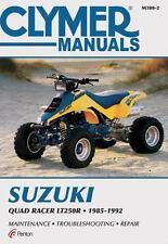 1985 86 87 88 89 1990 1991 1992 Suzuki Quad Racer LT250R ATV Repair Manual M3802
