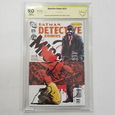Detective Comics #875 CBCS NOT CGC 9.0 SS Signed by Francavilla & Scott Snyder