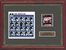 THE BEATLES A HARD DAYS NIGHT FRAMED 35MM FILM CELL