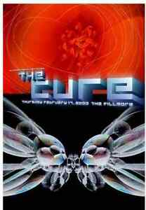 The Cure Gig Poster, San Francisco 2000 (Lithograph) 13 x 19' Print (Scratched)