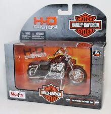 HARLEY DAVIDSON MAISTO 1:18 2012 XL 1200V SEVENTY-TWO NOSTALGIA SERIE 31