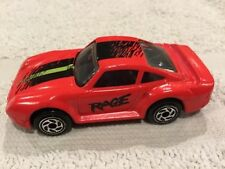 Matchbox Toy 1986 Porsche 959 Rage Orange/Red