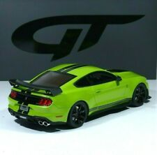 Ford Mustang Shelby GT500 2020 green / black strips 1:18 GT803 GT-Spirit