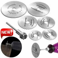 Circular Saw Disc Set Dremel Accessory Small Drill Rotary Tool Wood Cutting Hot