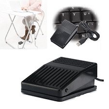 USB Foot Pedal Control Action Switch Game Keyboard Pad HID fr Computer Laptop PC