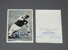 A & BC GUM CARD FOOTBALL ENGLAND 1969 RALPH COATES BURNLEY CLARETS