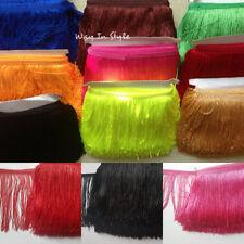 "Tassel Fringe Trim Approx 15 cm 6"" Drop  Assorted Colours 1 yard"