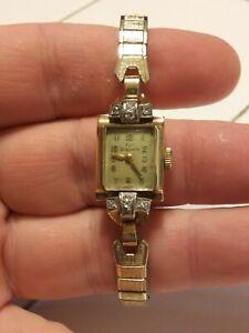 Paul Breguette Vintage 14K Gold Wristwatch