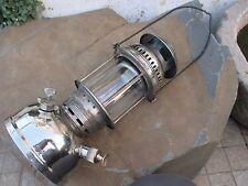 VINTAGE BRASS CHROME LAMP LANTERN PETROMAX HIPOLITO 250 PRESSURE KEROSENE