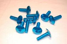 Blau Alu-Verkleidungsschrauben M6x20mm GSX-R 600 750 1000 1100 GSX 1300