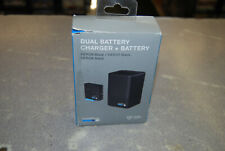 NEW GoPro Dual Battery Charger w/ One Battery for HERO8/7/6 Black (AJDBD-001)