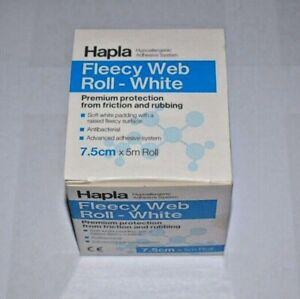 Hapla Fleecy Web Roll - White