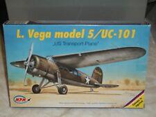 "MPM 1/72 Scale Lockheed Vega Model 5/UC-101 ""US Transport Plane"""