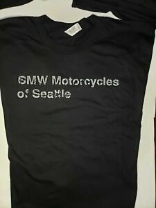 Genuine Original Factory BMW Motorcycles of Seattle Double-Sided T-Shirt   Small