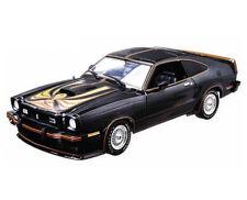 1:18 Greenlight  - 1978  FORD Mustang 2 V8 King Cobra black/gold - Black