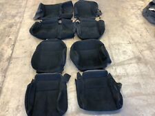 2015 2016 2017 Black Cloth OEM Factory Seat Covers Take Off NISSAN MURANO