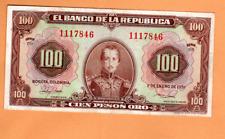 COLOMBIA 100 PESOS 1951 p394c