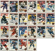 1992-93 O-PEE-CHEE STAR PERFORMERS Complete 22 Card Insert Set Lot Mint Lemieux