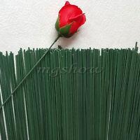 50XPlastic Florist Stub Stem Floral Wire Wedding Bridal Bouquet Craft Decor 40CM