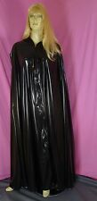 cape mantel black PVC Neu
