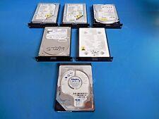 "Seagate, IBM, Western Digital & Maxtor ATA/IDE (PATA) 3.5"" Hard Drives Lot of 6"