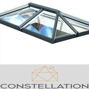 Eurocell Skypod Roof Lantern uPVC - ANY RAL COLOUR - FREE DELIVERY - CHEAPEST